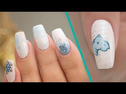 Christmas Stamping Nail Art