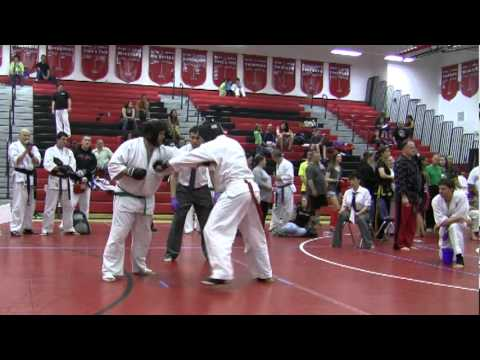 Jim Graffe 2011 Kyokushin Karate Tournament Hilton NY--- Bobby Filipov's final Fight Image 1