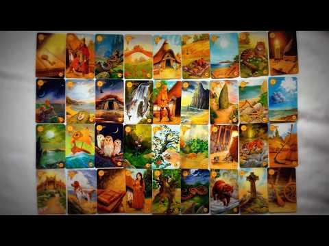 Большой расклад на все 36 карт Ленорман