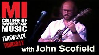 John Scofield - Musicians Institute(MI)がギター・クリニック69分の映像を公開 thm Music info Clip