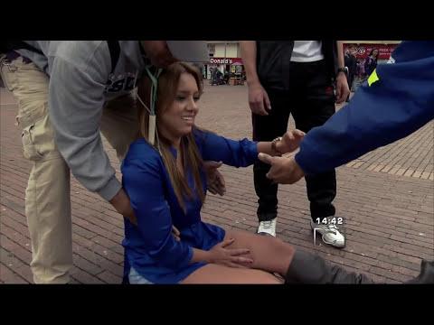Caída de Tatiana Franco en Descaradas HD
