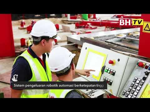 Robotic berautomasi sepenuhnya yang pertama di Malaysia