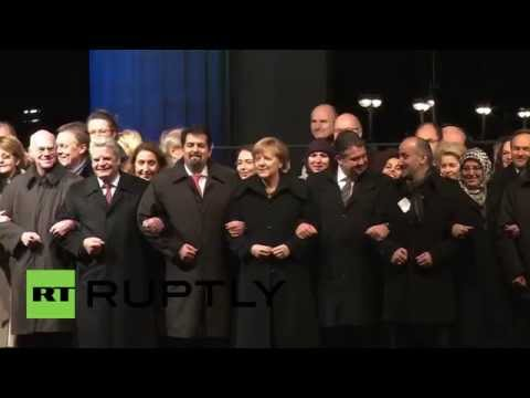 Germany: Merkel and Gauck lead rally for tolerance and respect for Islam