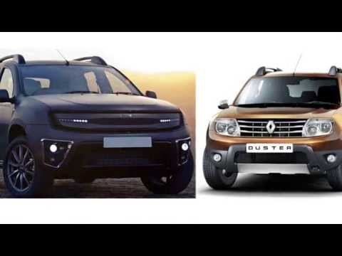 Comparison DC Design Renault Duster Vs Renault Duster