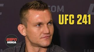 Ian Heinisch excited to be on 'card of the year' | UFC 241 | ESPN MMA