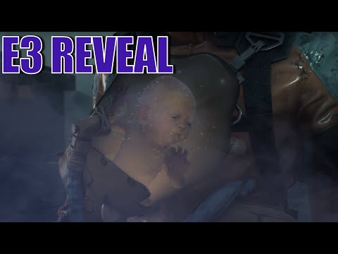 Death Stranding E3 (2018) Reveal & Gameplay Footage ☑️