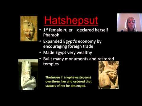 Unit 4C Part II: Ancient Egypt Government