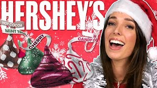 Irish People Try Hershey's Christmas Chocolate