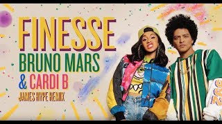 Download Lagu Bruno Mars - Finesse (James Hype Remix) [feat. Cardi B] Gratis STAFABAND