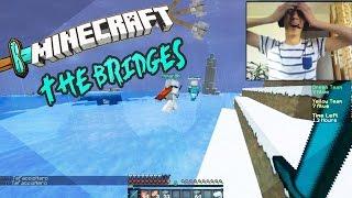 Minecraft mini igre #10 - THE BRIDGES funny gameplay with Edo the Pro