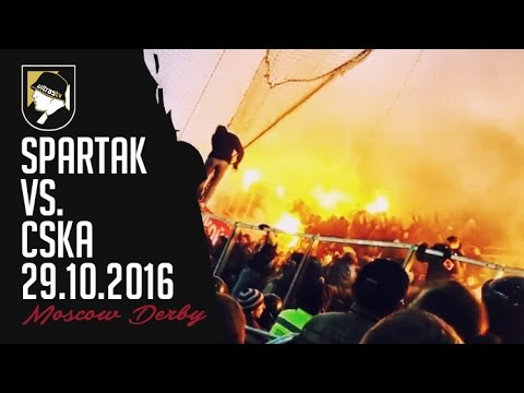 Spartak Moscow - CSKA Moscow 29.10.2016