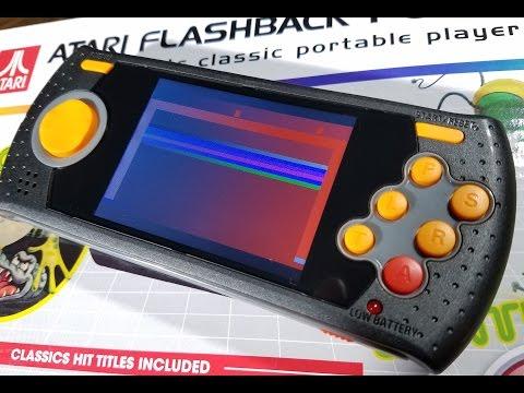 Classic Game Room - ATARI FLASHBACK PORTABLE review