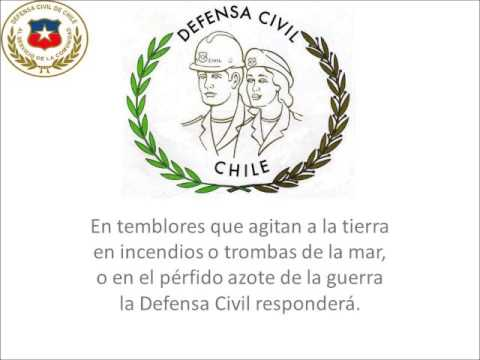 HIMNO DEFENSA CIVIL DE CHILE LETRA.