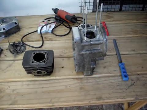 Preparando el motor Zanella Due / Sol para el Karting