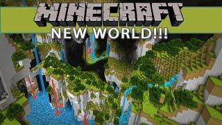 Minecraft NEW WORLD!!!  Caves of Chaos on Monkeyfarms Patreon Server