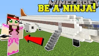 Minecraft: WE BECOME NINJAS!! - NINJA TRAINING SCHOOL - Custom Map