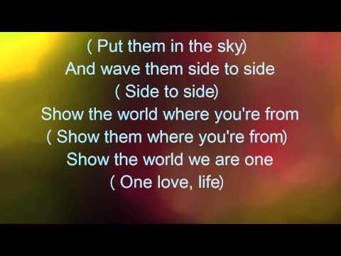 We are one ole ola LYRICS Pitbull Jeniffer Lopez Claudia Leitte