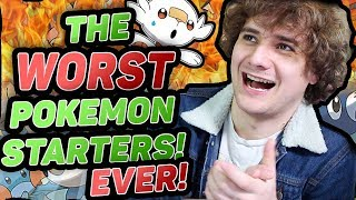 The Absolute WORST Starter Pokemon Ranked! Including Sobble, Scorbunny and Grookey