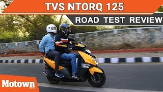 TVS Ntorq 125 | Practical and fun? | Road Test Review | Motown India