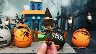 "LOL Surprise Toys and Dolls DIY ""Halloween Series"" - Custom Toys Like Surprise Eggs for Kids"