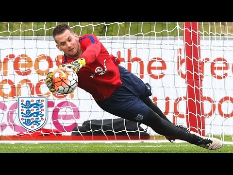 Heaton Worldie & Hart Hits a Hat-Trick! (England Goalkeeper Session) | Inside Training