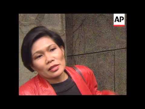 TAIWAN: TAIPEI: FILIPINO MAID AND BABY DEPORTED