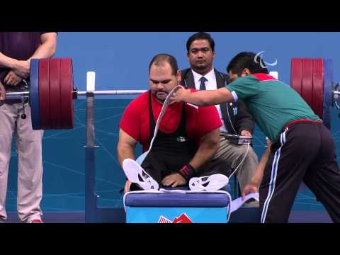 Powerlifting - Men's -90 kg Group A Final - London 2012 Paralympic Games