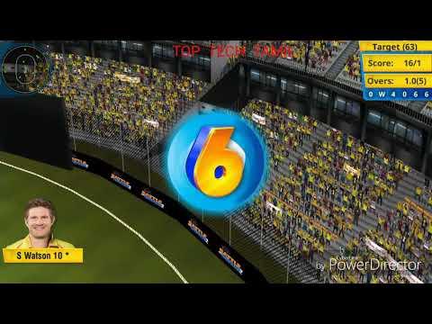 CSK CRICKET GAME | TOP TECH TAMIL