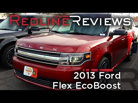 2013 Ford Flex EcoBoost Review. Walkaround. Exhaust. Test Drive