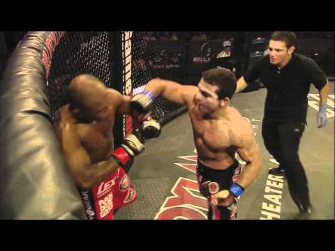 Bellator 41 moment: Patricio Pitbull delivers a devastating array of strikes to Wilson Reis