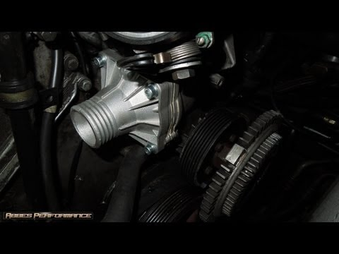 BMW 540i M62 KNOCKING SOLVED - FITTING THE 80°C THERMOSTAT