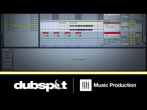 Ableton Live Tutorial: Mixing w/ Live's Utility Device