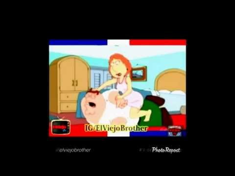 Petter Griffin & Lois Griffin Dominican Family Guy