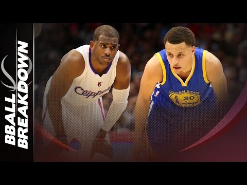 Steph Curry vs Chris Paul: Warriors Overtake The Clippers