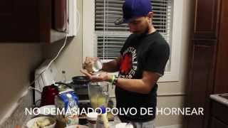 DIY How to Make Crepes at Home VERY EASY Como hacer crepes desde casa FACIL!! (Spanish subtitles)
