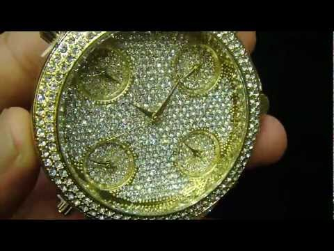 Mr Chris Da Jeweler Custom Jacob Style 5 Time Zone Lab Diamond Watch ( $149.99 ) ( VNO: CW4899)