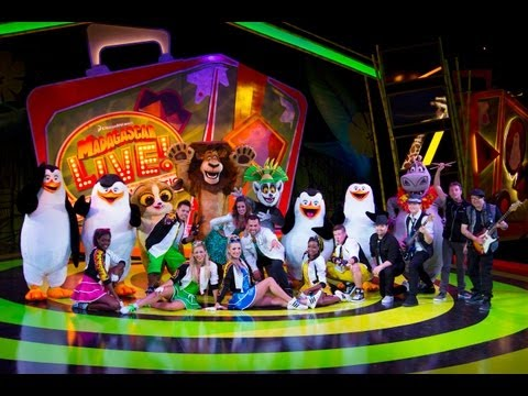 Busch Gardens Madagascar Live! Operation: Vacation show - Tampa
