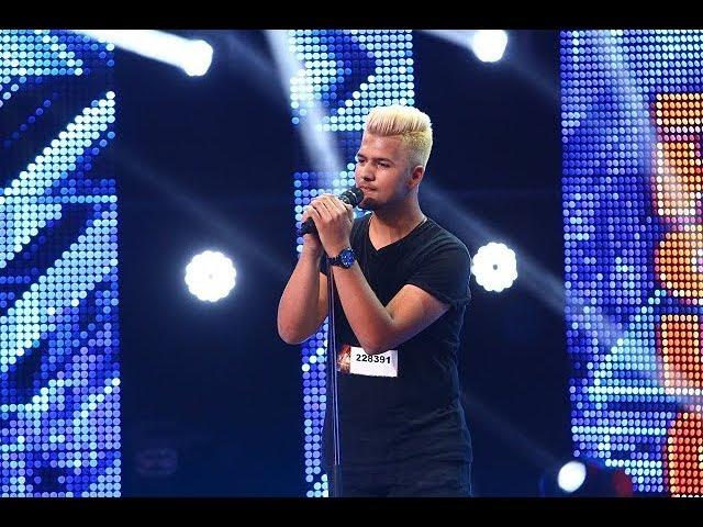 """Frank Sinatra - """"Fly Me To The Moon"""". Vezi interpretarea lui Alin Lăcătuş, la X Factor!"""