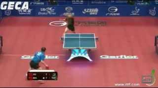 Xu Xin vs Ma Lin[ITTF World Tour Grand Finals 2012]