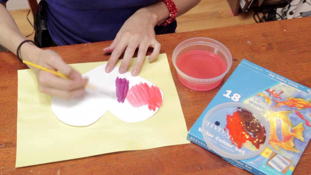 School valentine art project fun crafts for kids youtube for Valentine craft projects kids