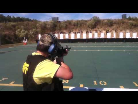 Shooting a AR-15