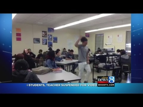 9 students suspended for 'Harlem Shake'