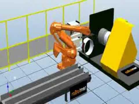 Taşıma Robotu Simülasyonu 5
