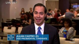 Julián Castro on Debate Feedback and Family Separations | The View