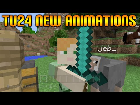 ✓Minecraft Xbox 360 + PS3 Title Update 24 New Animations + Cool Nametag Features✓