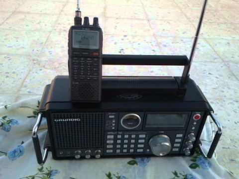 Grundig Satellit 750 vs  icom -ic-r20