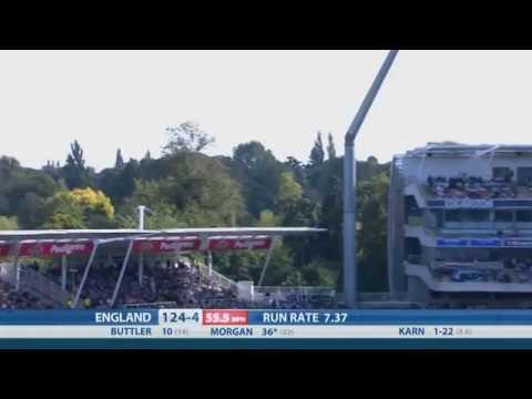 T20 Highlights - England v India, Edgbaston - England reach 180-7