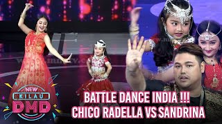 Wow Battle Dance India Chico Radella Sandrina Semua Juri Ikut Goyang Kilau Dmd 19 2
