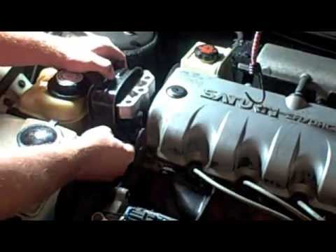 1994 Saturn SL1 how to install engine motor mount - YouTube