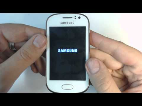 Samsung Galaxy Fame S6810P - How to remove pattern lock by hard reset